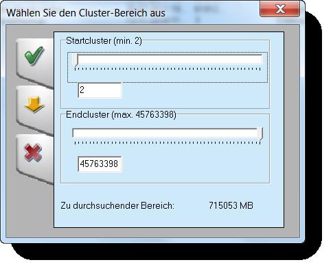 Festplatte nach gelöschten Daten durchsuchen