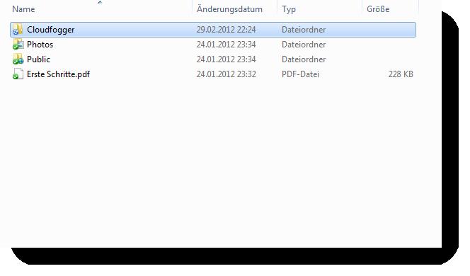 Cloudfogger Dropbox Ordner