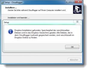 Cloudfogger Installation