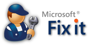 Microsoft fixit Supportcenter Logo