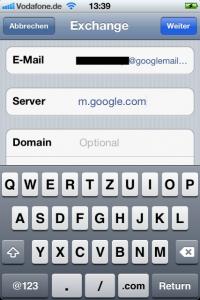 03_Google Mail Exchange Daten 2