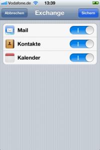 Google Mail Synchronisierung