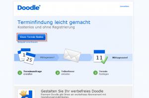 Doodle Homepage