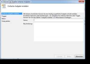 Windows geplanter Task
