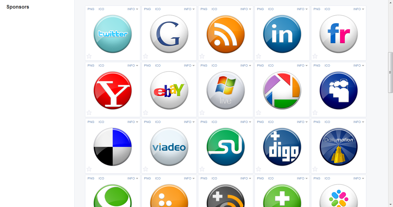 iconfinder social icons