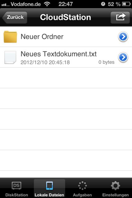 DS File Dateien