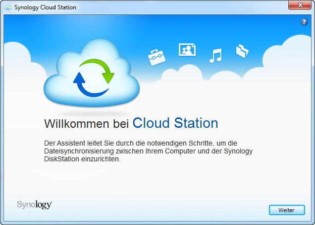Synology Cloud Station Client 1