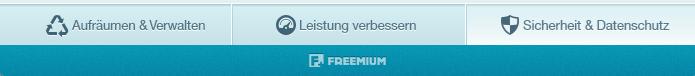 FreeSystemUtilities Leiste
