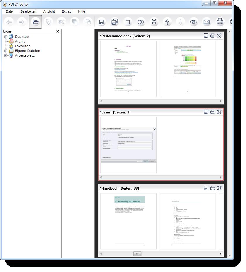 PDF24 - PDF Dokumente Editieren