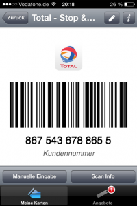 Stocard Barcode