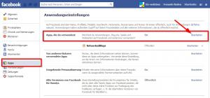 Facebook Alle Anwendungen blockieren